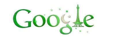 Pakistan Independence Day 2011 Google Doodle