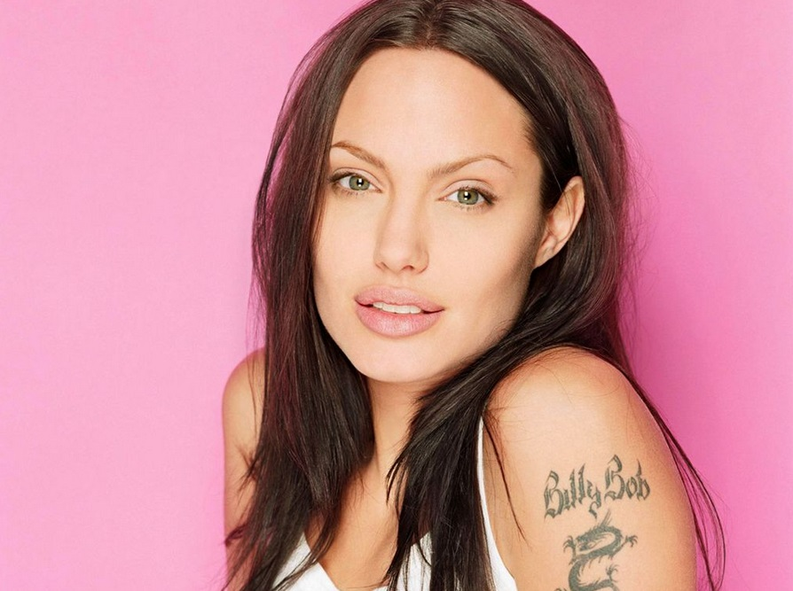 Angeline Jolie Tattoos Wallpapers