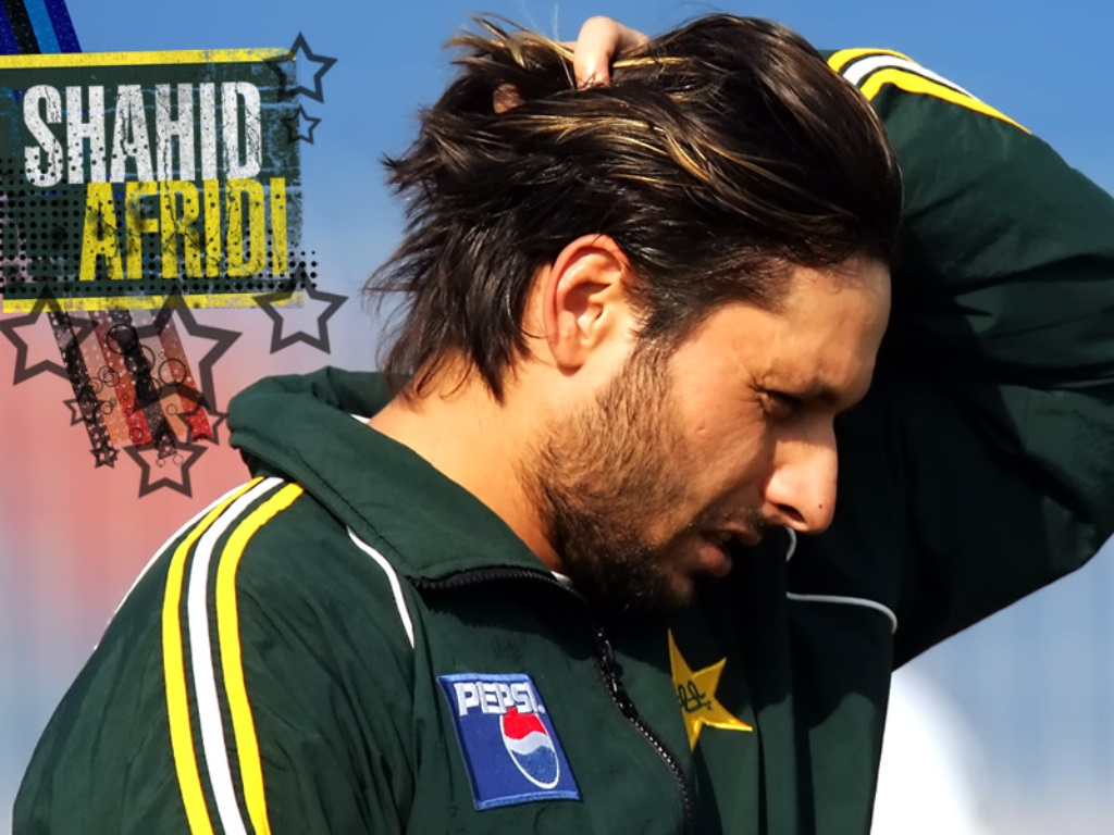 Beautiful Photos Of Pakistani Cricket Shahid Afridi Awazpostcom