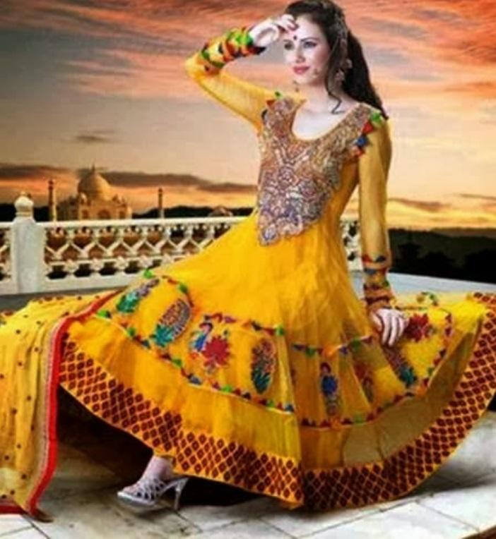 Mehndi dresses pictures pakistani