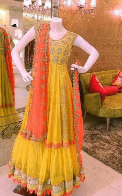 best mehndi dresses pakistani 2015 – AwazPost.com