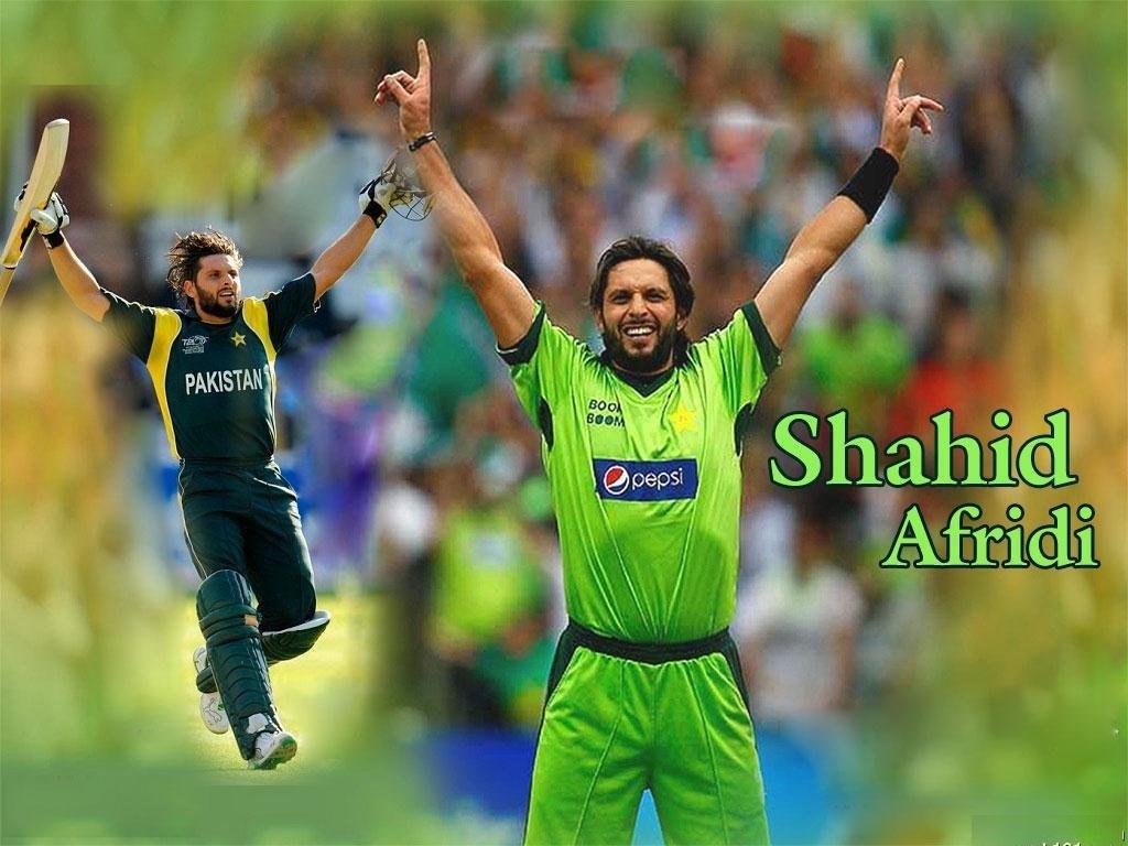 Famous Cricket Shahid Khan Afridi