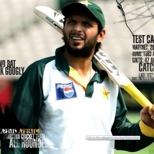 shahid afridi wallpapers for mobile