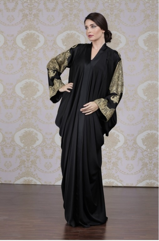 New Exclusive & Stylish Abaya Designs For Girls 2015
