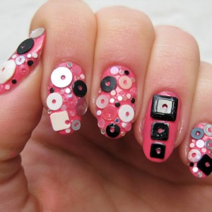 Easy Nail Art Designs 2015 For School Girls
