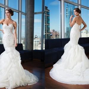 Vintage Wedding Dresses Justin Alexander