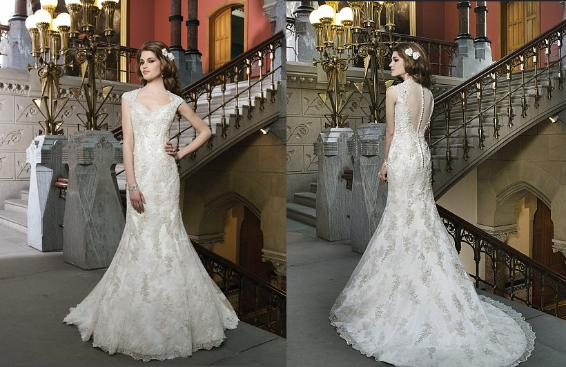 Elegant And Timeless Wedding Dresses By Justin Alexander