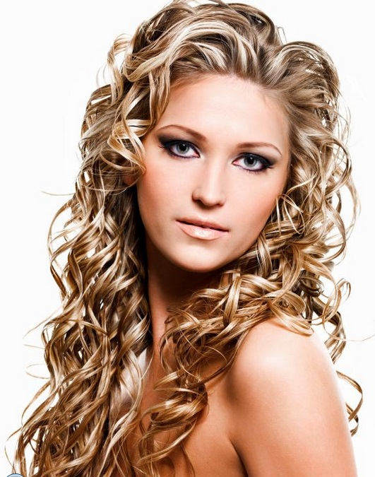 medium hair perms styles hairstyles for permed hair medium length hair 8115