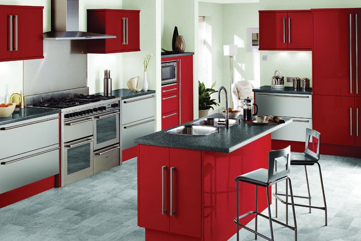 2015 Latest L Shaped Kitchen Design Ideas