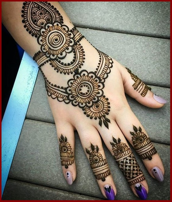 Latest Mehndi Design 2018 For You